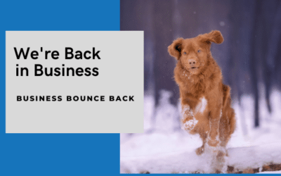 Business bounce back after lock down – how to get a head start.